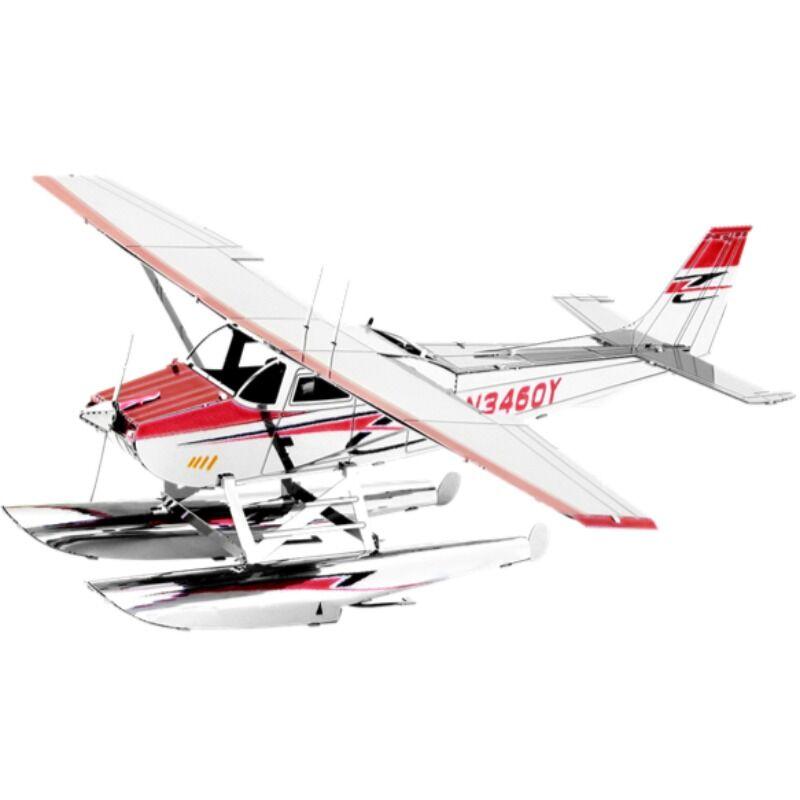 Metal Earth - Cessna 182 Float Plane