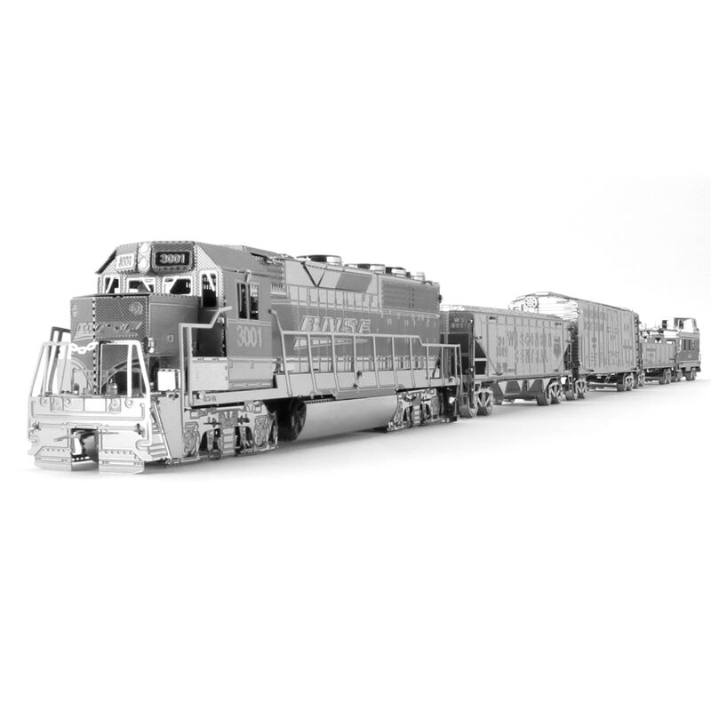 Metal Earth - Gift Box - Freight Train