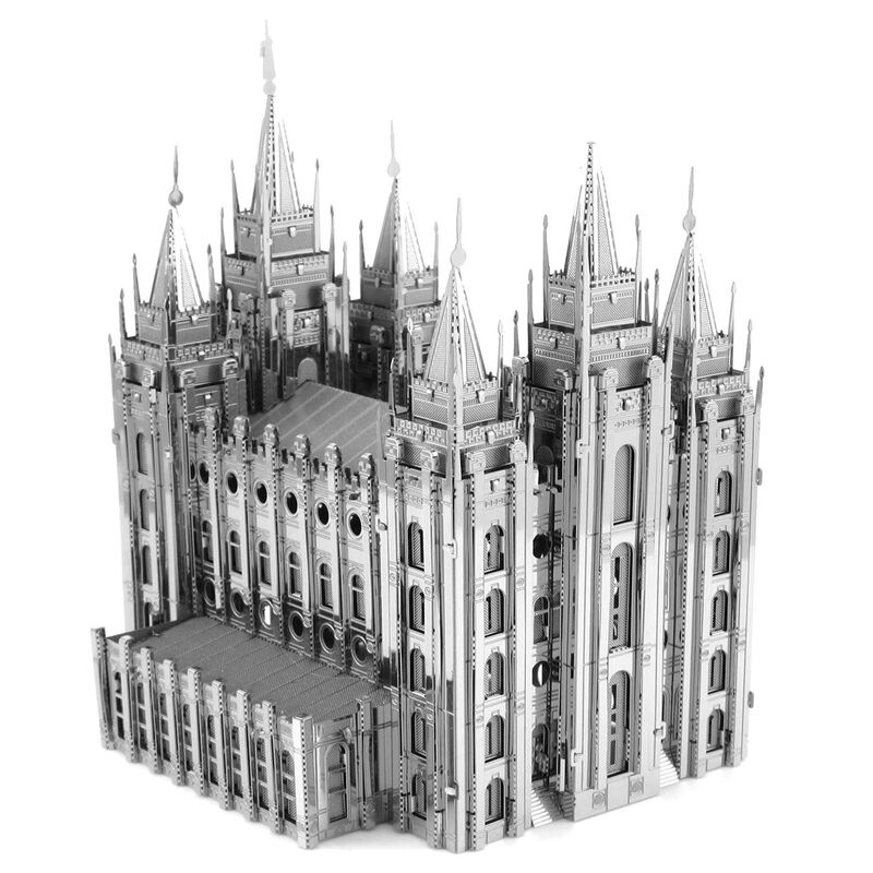 Metal Earth - ICONX - Salt Lake City Temple