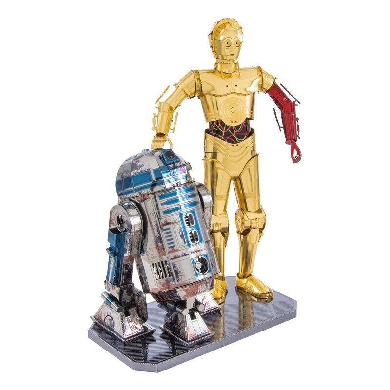 Metal Earth - Star Wars - R2-D2 +amp C-3PO