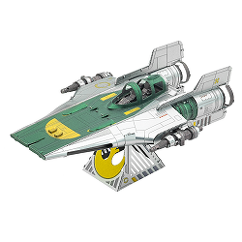 Metal Earth  Star Wars  Resistance AWing Fighter