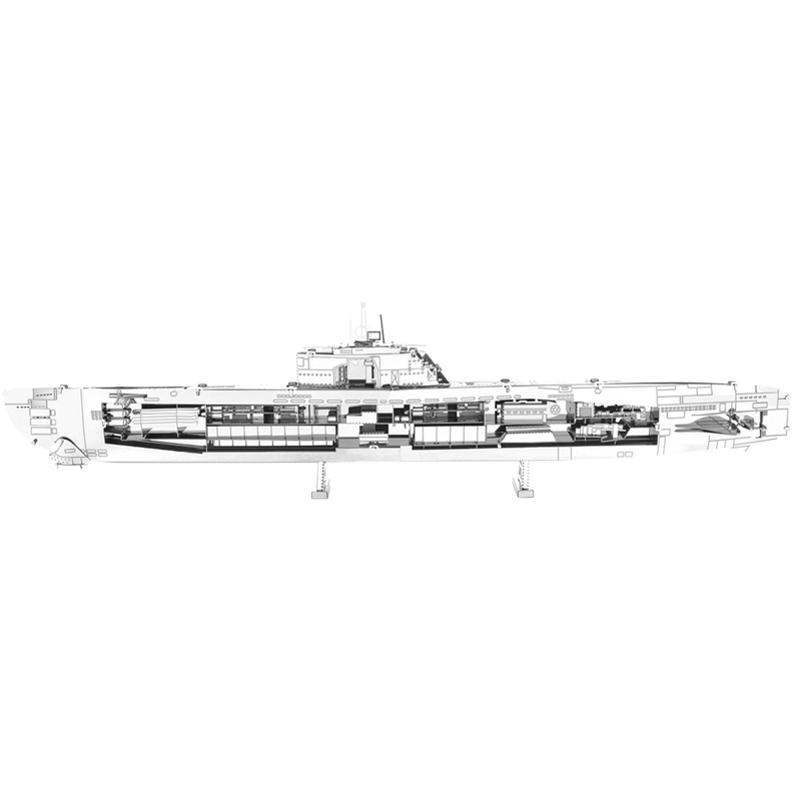 Metal Earth  U Boat XX1