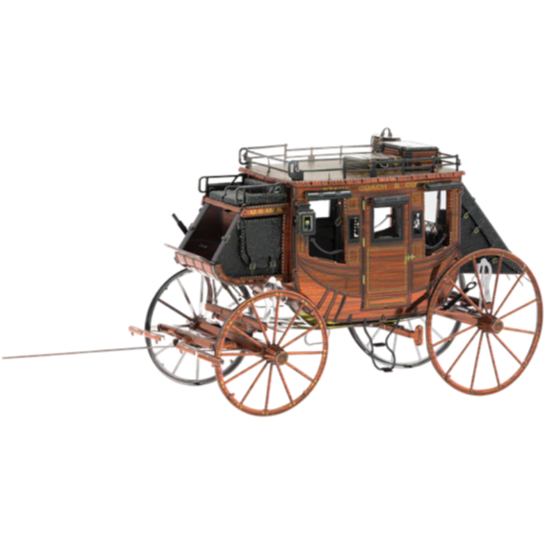 Metal Earth  Wild West Stage Coach