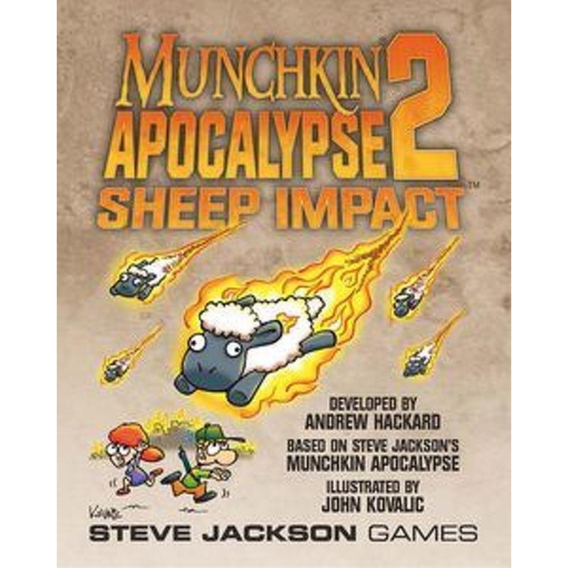 Munchkin 2  Apocalypse Sheep Impact