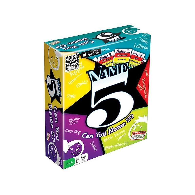 Name 5 Card Game