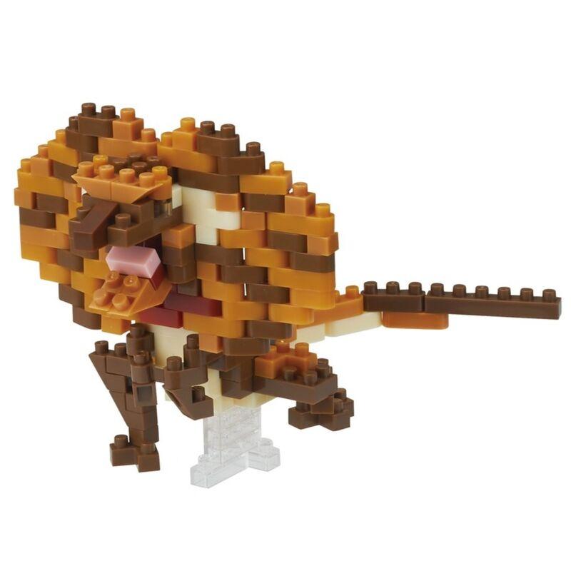 Nanoblock - Frilled Neck Lizard