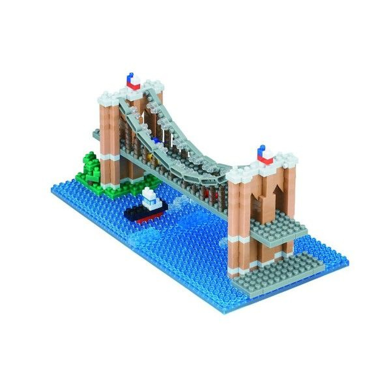 Nanoblock  Brooklyn Bridge