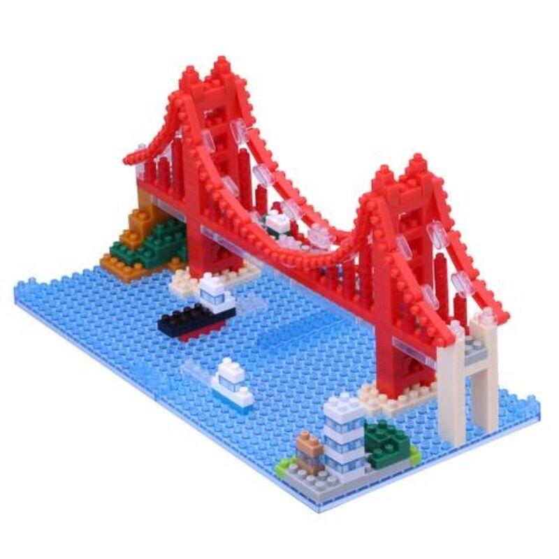 Nanoblock  Golden Gate Bridge