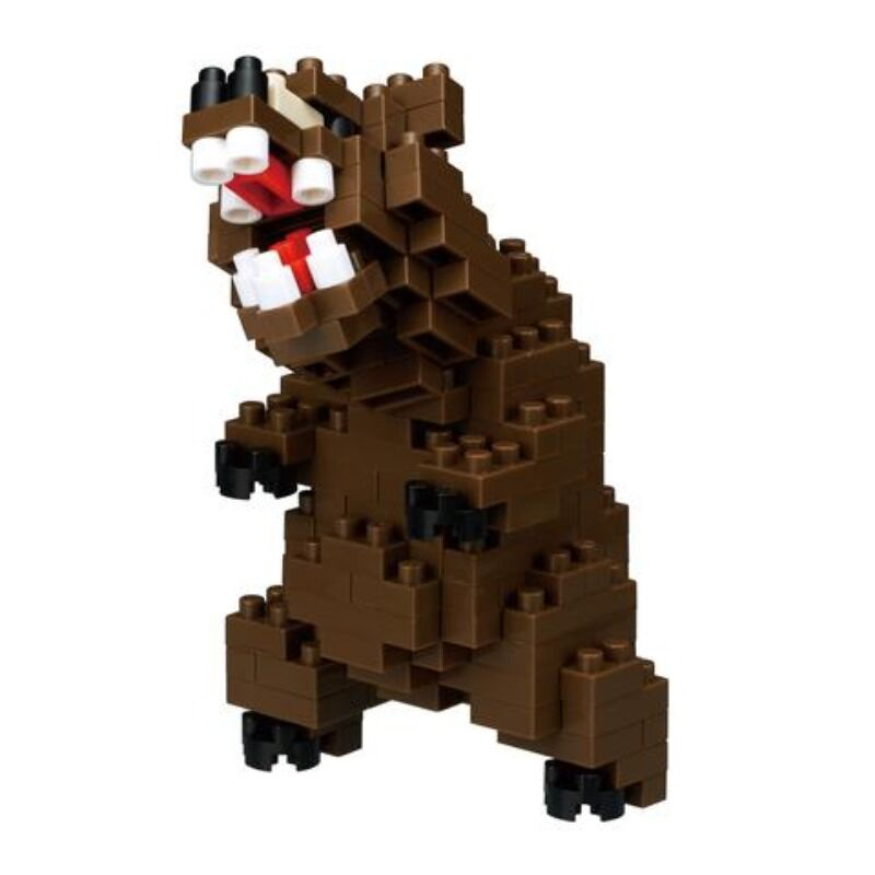 Nanoblock  Grizzly Bear