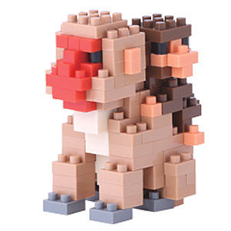 Nanoblock  Mother and baby monkey