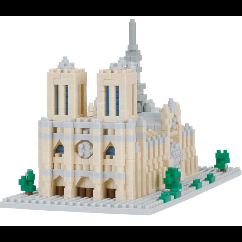 Nanoblock  Notre Dame Cathedrale