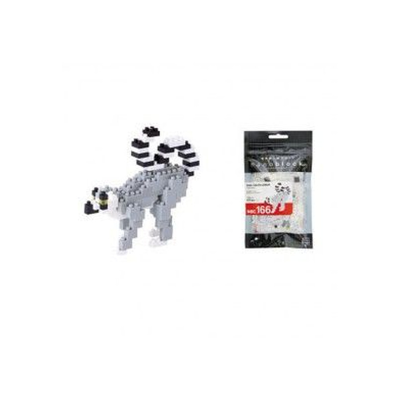 Nanoblock  Ring Tailed Lemur