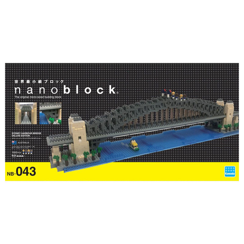 Nanoblock  Sydney Harbour Bridge Deluxe Edition