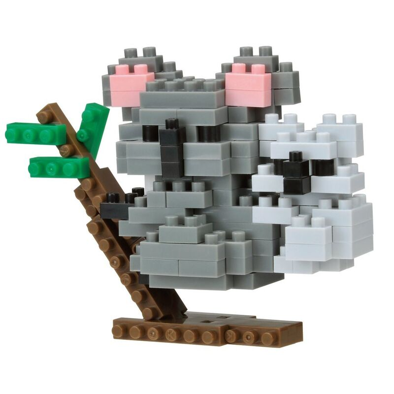 Nanoblock   Koala with Joey