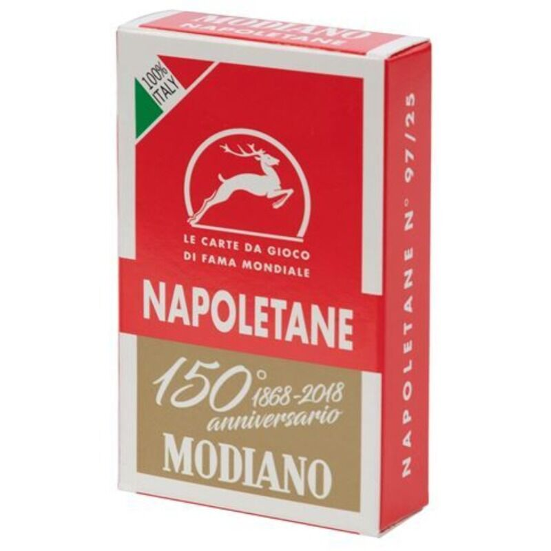 Napoletane Playing Cards Red