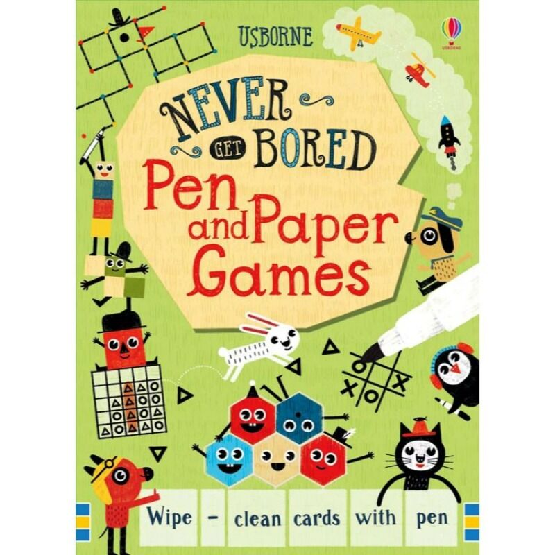 Never Get Bored Pen andamp Paper Games