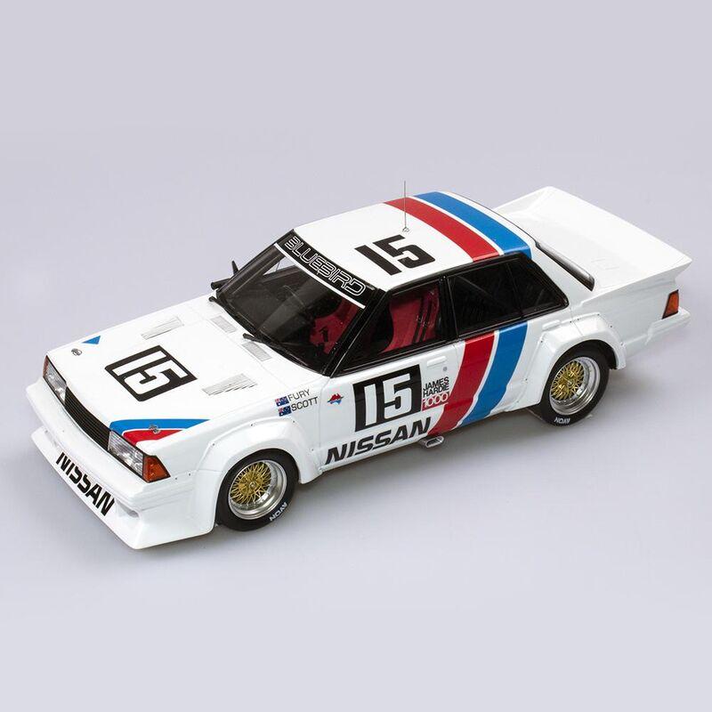 Nissan Bluebird Turbo  1984 James Hardie Bathurst 1000 Pole Position