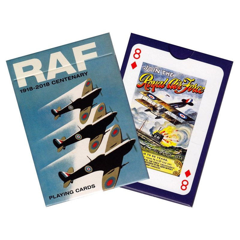 Piatnik Playing Cards  RAF Centenary Single