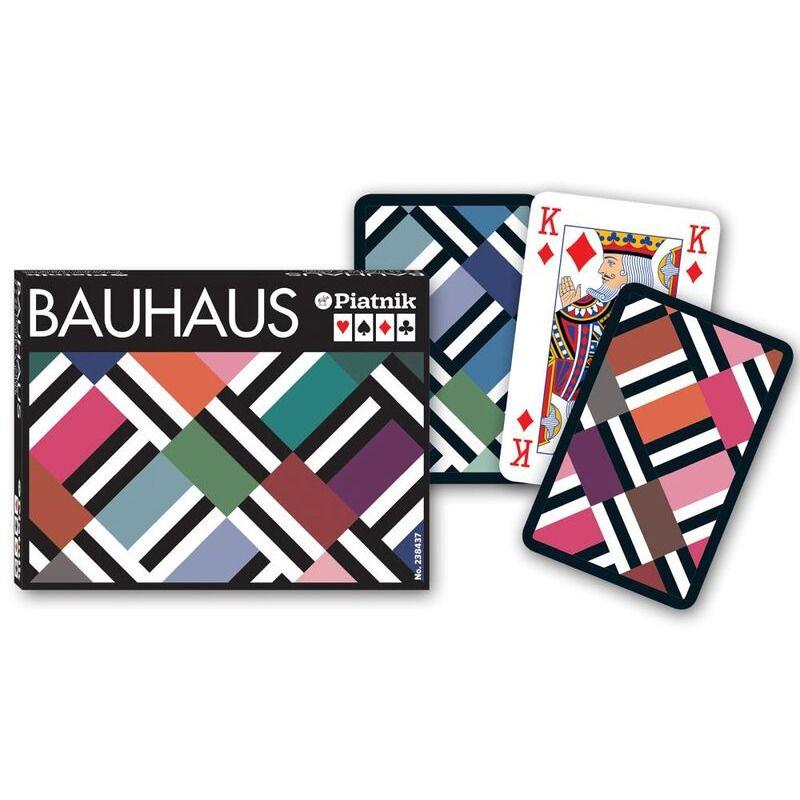 Piatnik  Playing Cards Bridge Double  Bauhaus