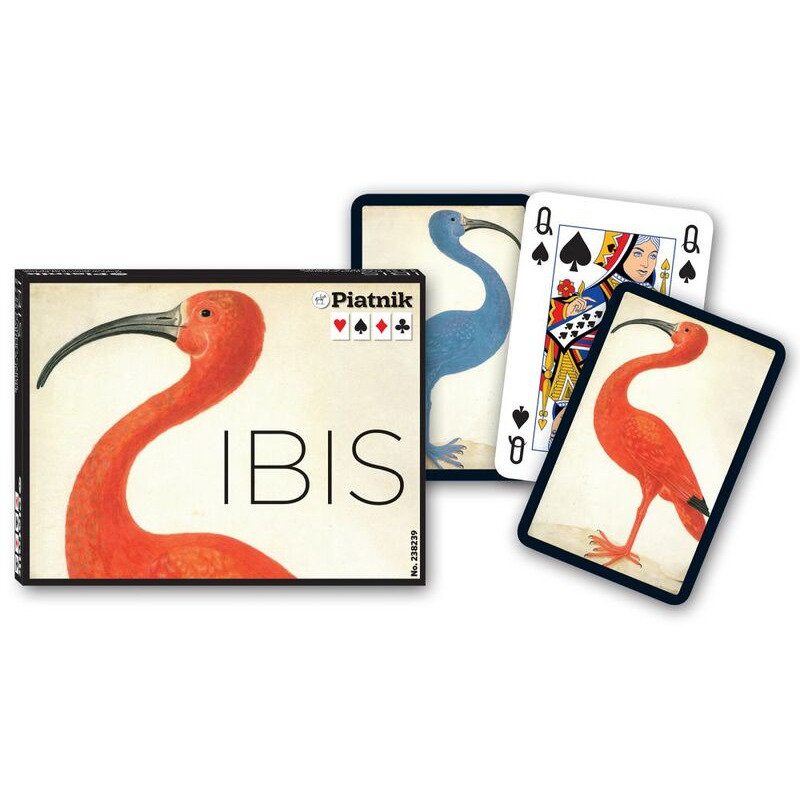 Piatnik  Playing Cards Double  Ibis