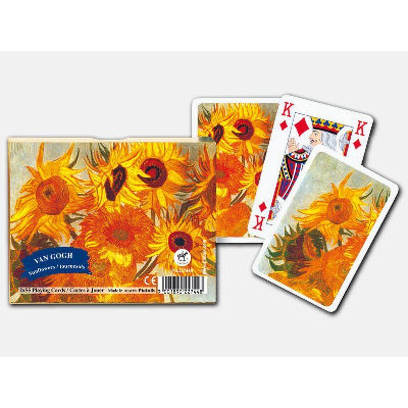 Piatnik  Playing Cards SIngle  Van Gogh Flowers Design