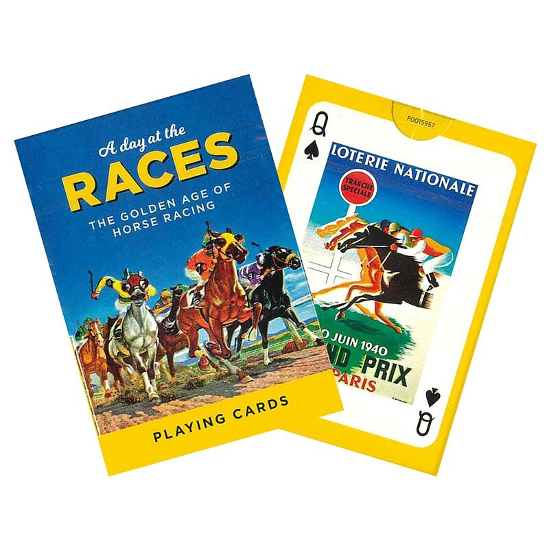 Piatnik  Playing Cards Single  A Day at the Races