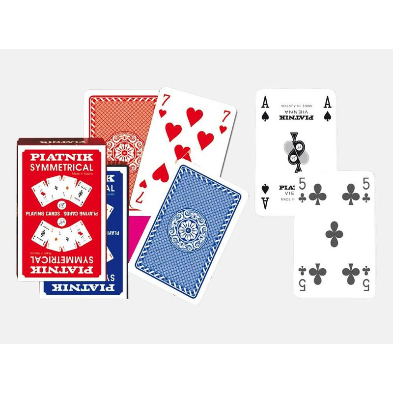 Piatnik   Playing Cards SIngle   Symmetrical Bridge