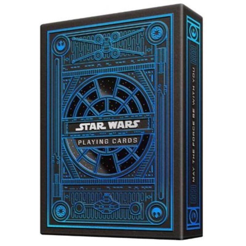 Playing Card  Single Theory II Star Wars Light Side Blue