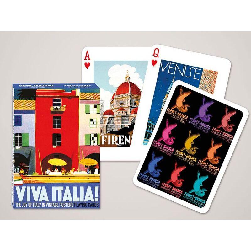 Playing Card  Single  Viva Italia
