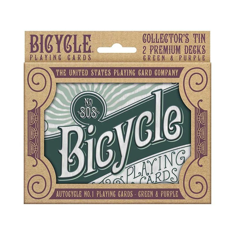 Playing Cards  Double Bicycle Retro Gift Tin