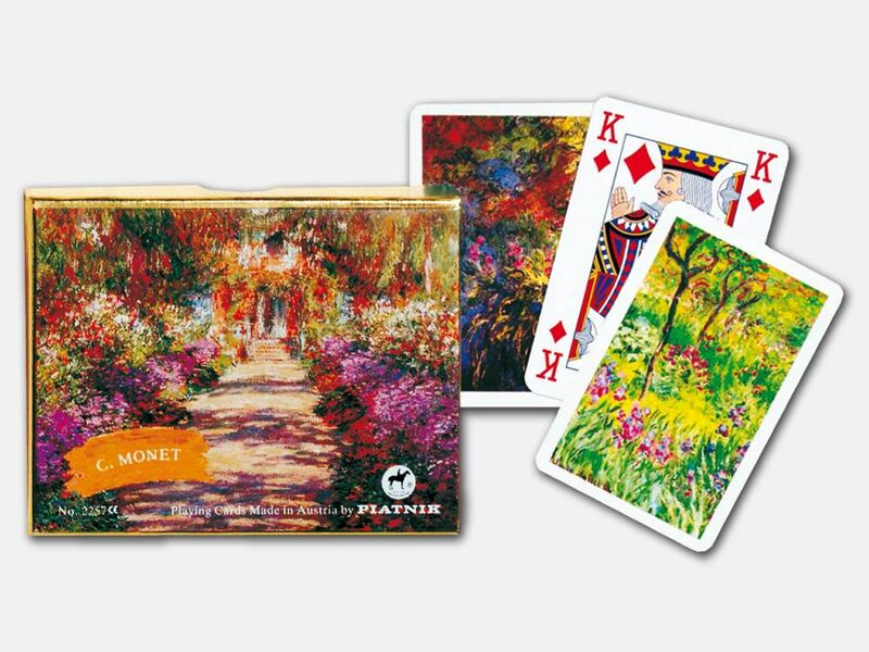 Playing Cards  Double Bridge Monet Giverny