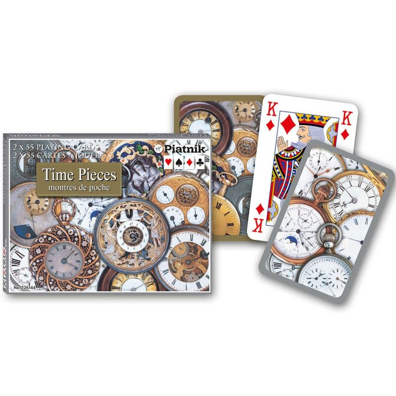 Playing Cards  Double Bridge Time Pieces
