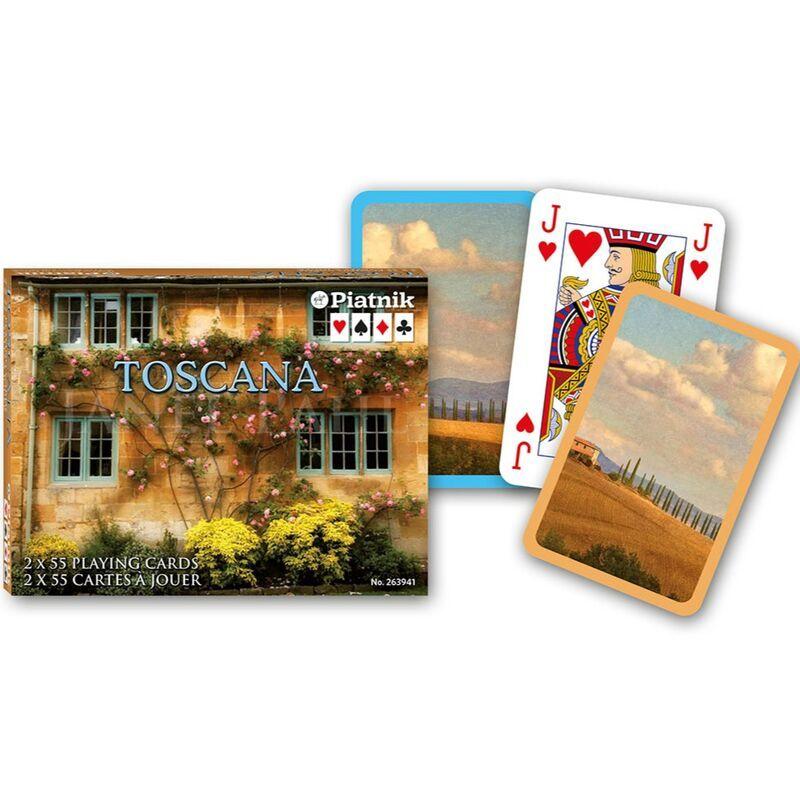 Playing Cards  Double Bridge Toscana