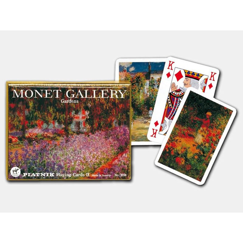 Playing Cards  Double Monet Gardens