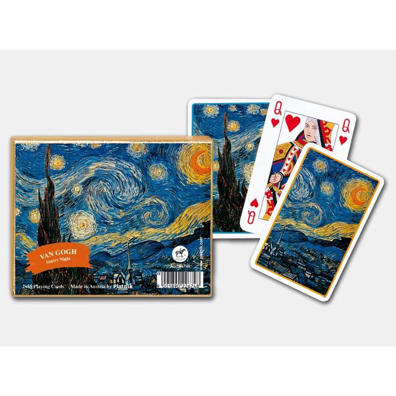Playing Cards  Double Starry Night