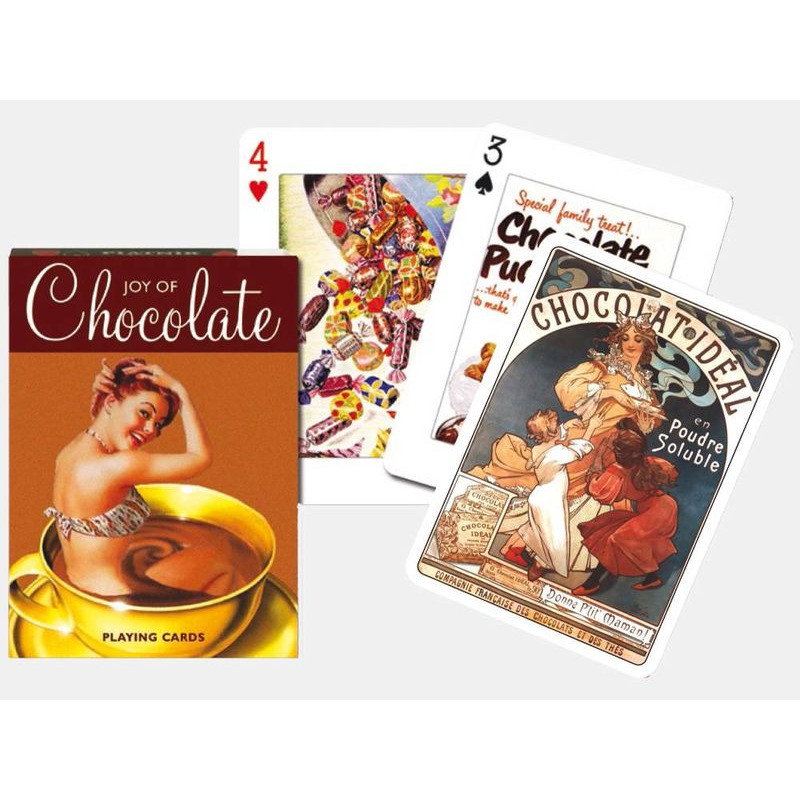 Playing Cards  Piatnik Single Chocolate