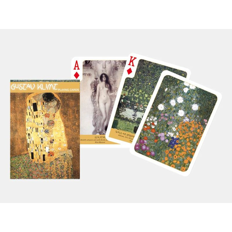 Playing Cards  Piatnik Single Gustav Klimt