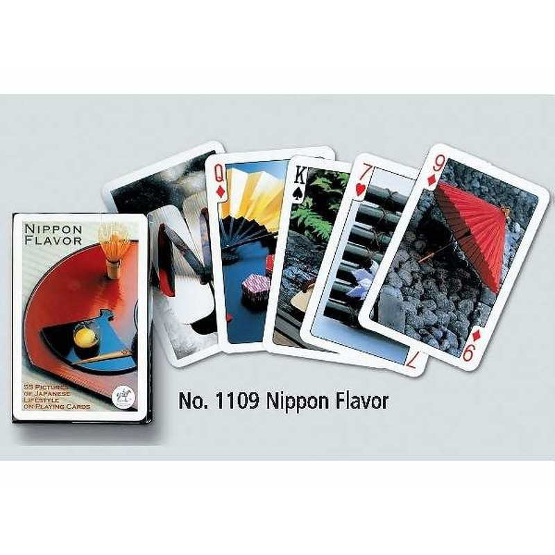 Playing Cards  Piatnik Single Nippon Flavour