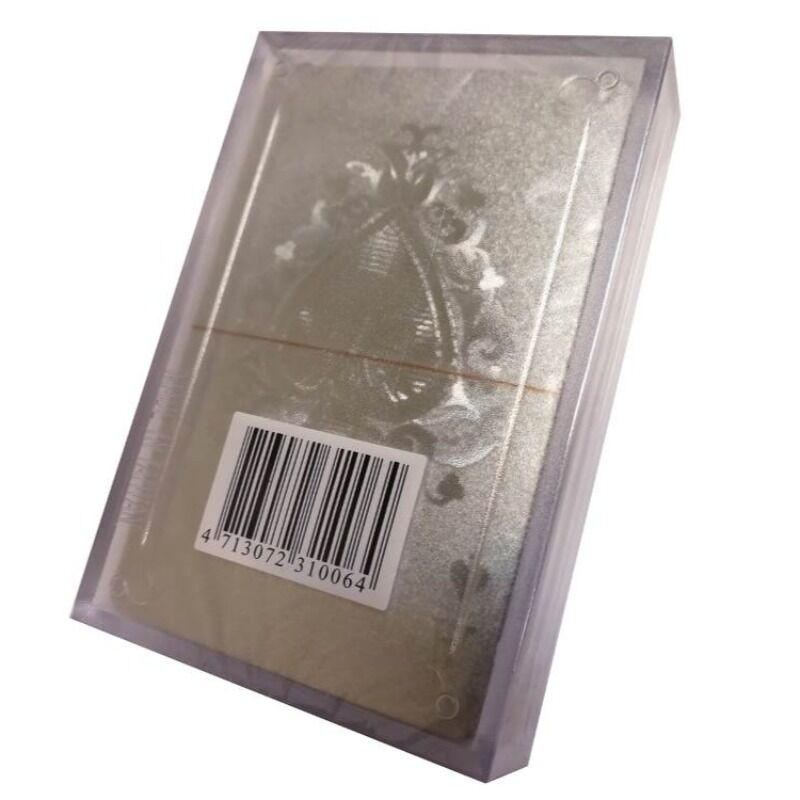 Playing Cards  Royal 100 Plastic Silver Deck