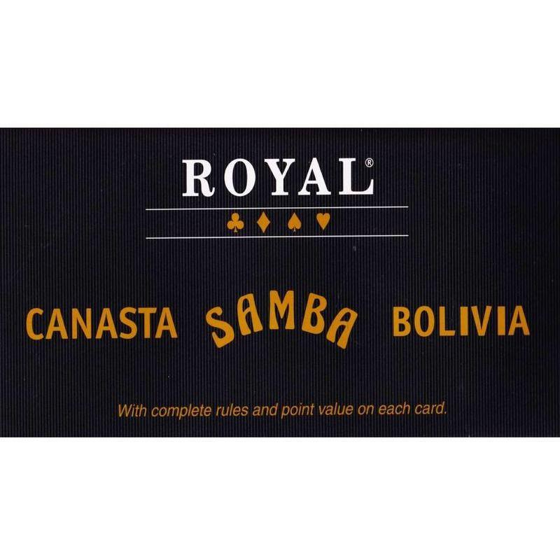 Playing Cards  Royal Samba Canasta