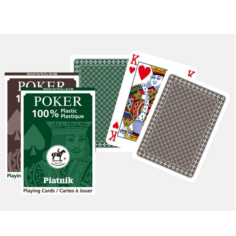 Playing Cards  Single 100 Plastic