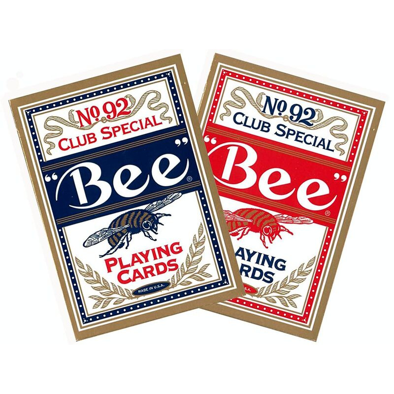 Playing Cards  Single Bee Poker