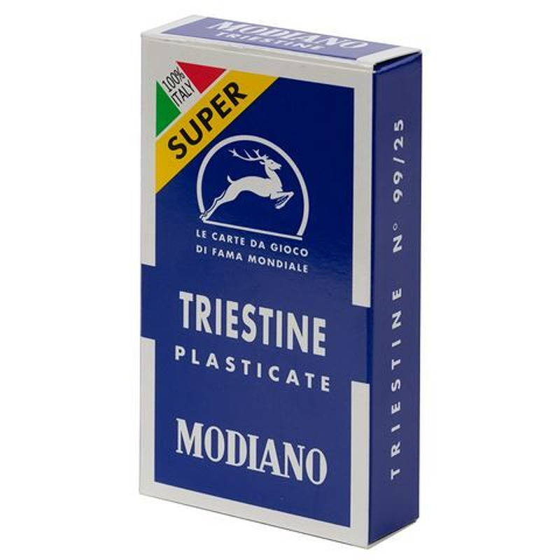 Playing Cards  Single Modiano Triestine