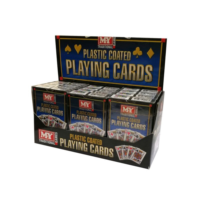 Playing Cards  Single Plastic Coated