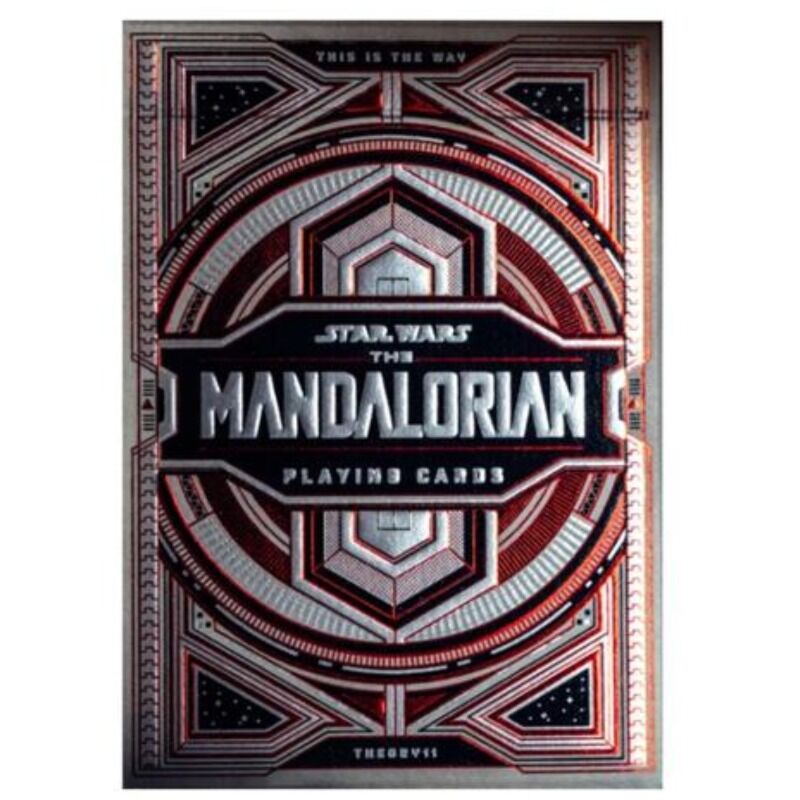 Playing Cards  Single  Theory 11 Star Wars The Mandlorian