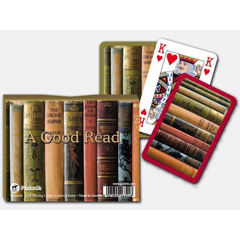 Playing Cards   Double A Good Read