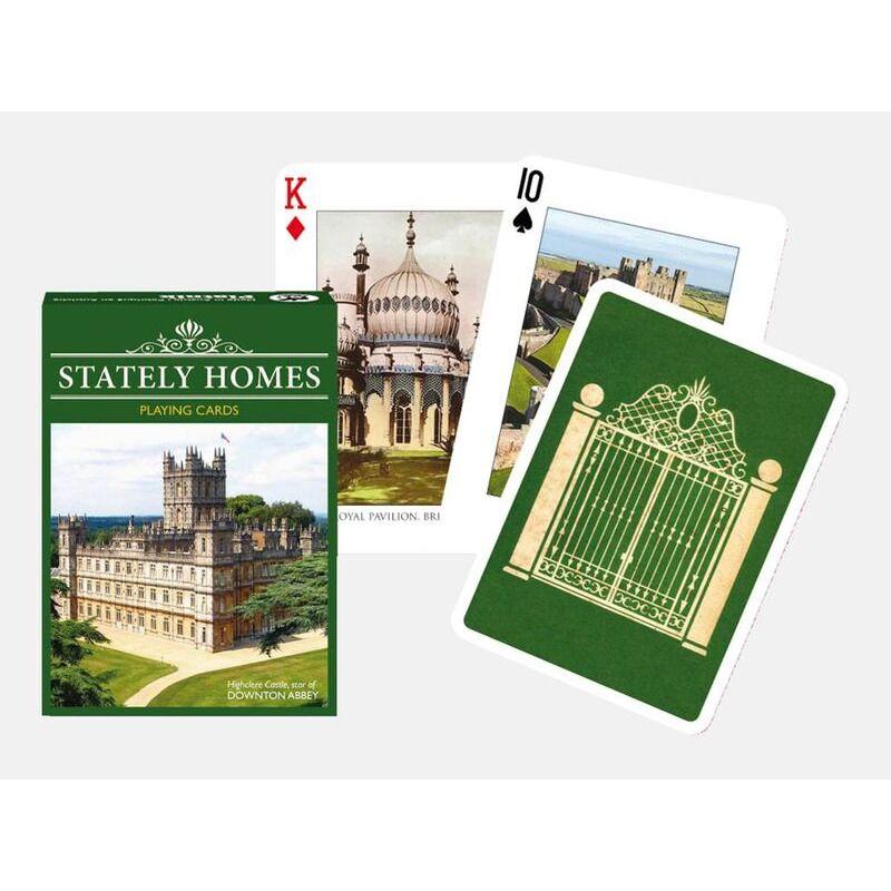 Playing Cards   Piatnik Single Stately Homes