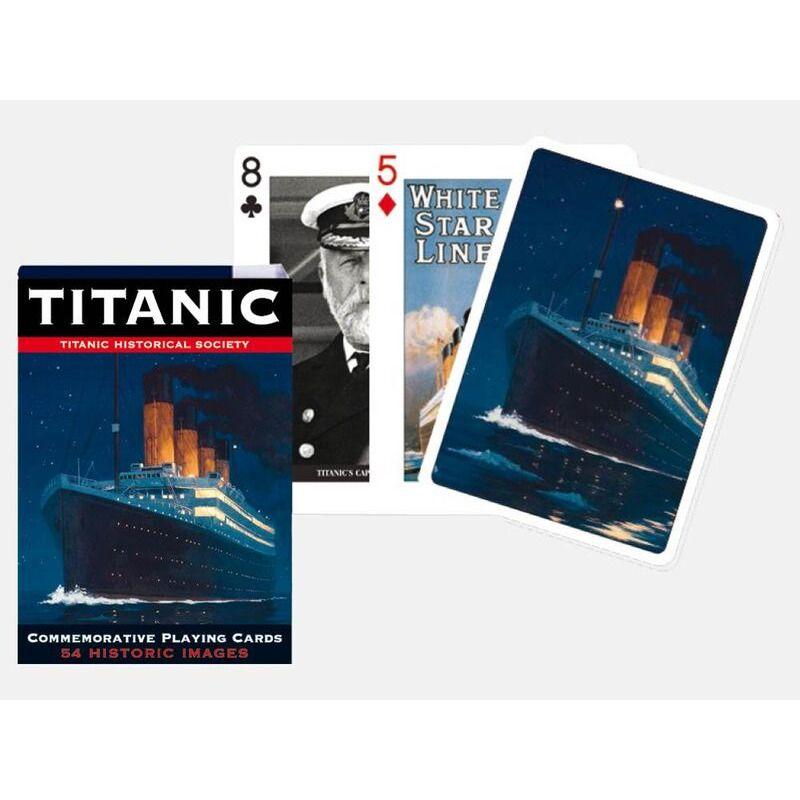 Playing Cards   Piatnik Single Titanic