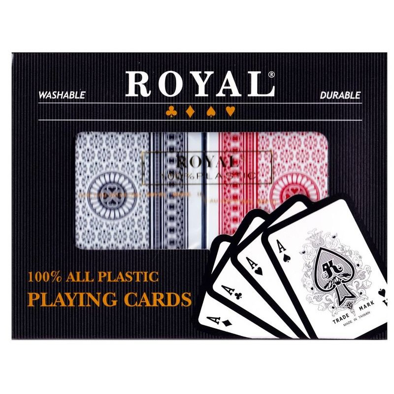 Playing Cards   Royal Plastic Double