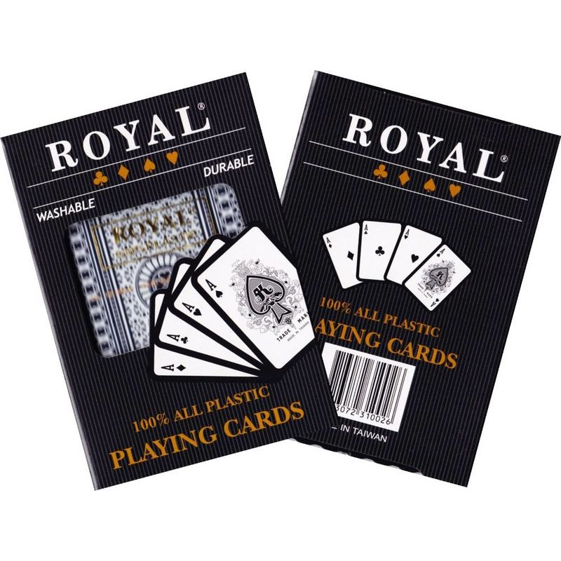 Playing Cards   Royal Plastic Single